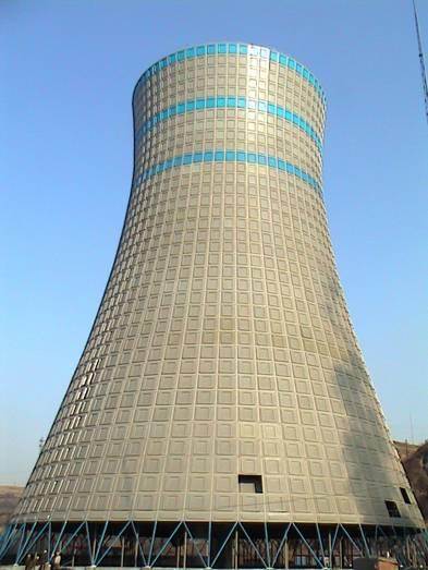 双曲线自然通风冷却塔