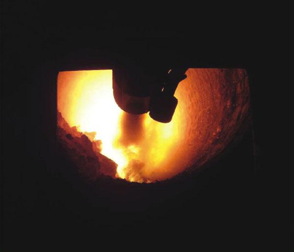 煅烧_熟料煅烧摄影图__工业生产_现代科技_摄影图